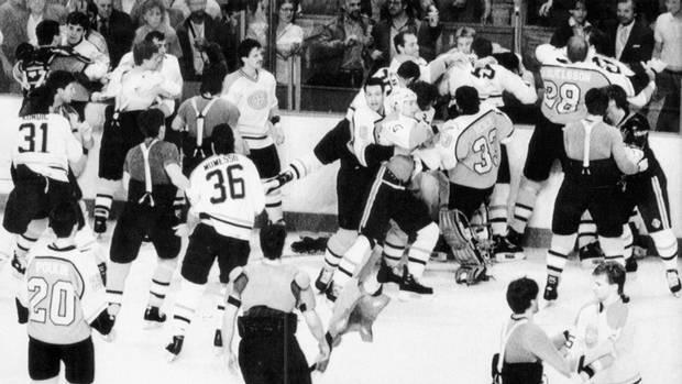 bagarre NHL Playoffs